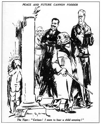 Will Dyson, Peace and Future Cannon Fodder, (Daily Herald, 1913)