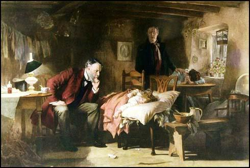 Luke Fildes, The Doctor (1874)
