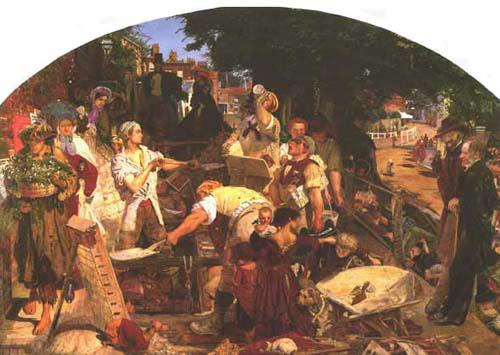 Ford Madox Brown, Work (1852-1865)