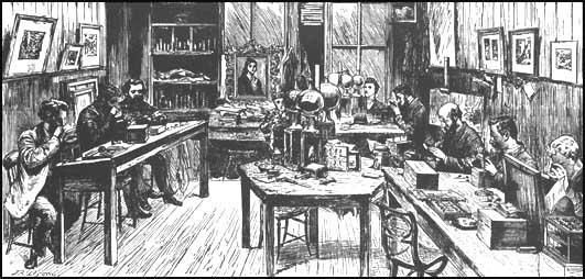 The Graphic Engraving Studio (1882)