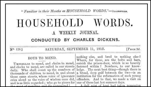 Household Words (11th September, 1852)