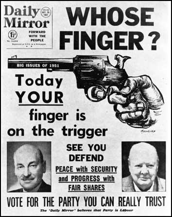 The Daily Mirror (25th October, 1951)