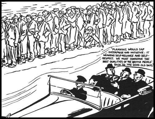 David Low, The Good Old Days, Evening Standard (October, 1943)