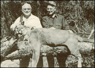 David H. Byrd on safari with General Jim Doolittle