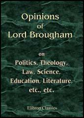 Opinions of Lord Brougham