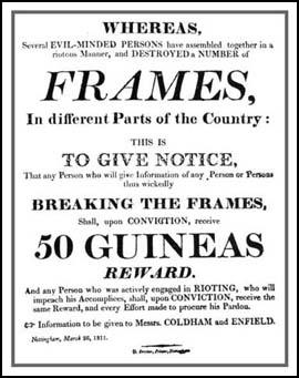 Poster published in 1811