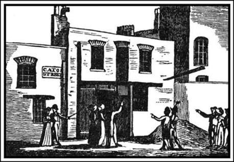 The Stable at Cato Street (The Observer, 6th March 1820)