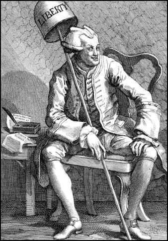 John Wilkes by William Hogarth (1763)