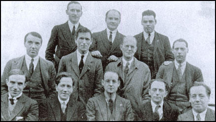 (Back Row): Jack Murphy, William Gallacher, Wal Hannington; (Middle Row)Harry Pollitt, Ernie Cant, Tom Wintringham, Albert Inkpin; (Front Row)John R. Campbell, Arthur McManus, William Rust, Robin Page Arnot, Tom Bell.