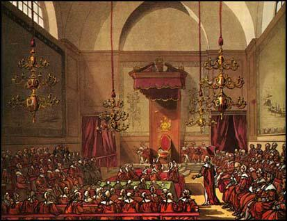 Rudolf Ackermann, House of Lords (1808)