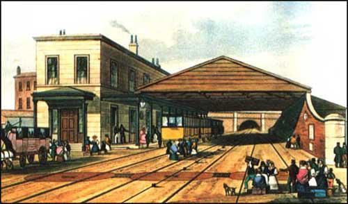 Thomas Bury, Liverpool Crown Street Station (1831)
