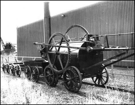 A full-size reproduction of the Penydarren