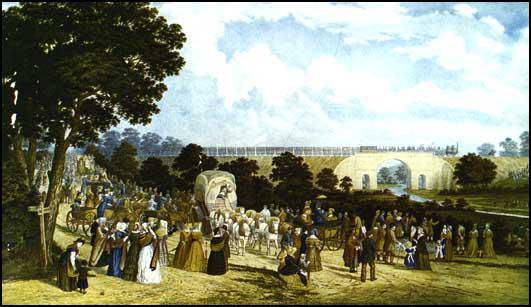 Opening of the Stockton & Darlington Railway