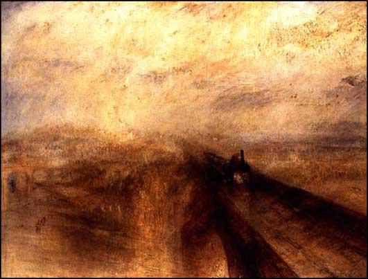 J. M. W. Turner, Rain, Steam and Speed - The Great Western Railway (1844)