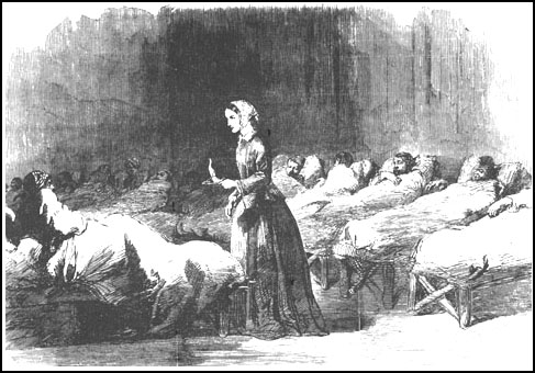 Florence Nightingale, The Illustrated London News (24th February, 1855)