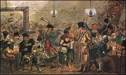 George Cruikshank, Life in London (1821)