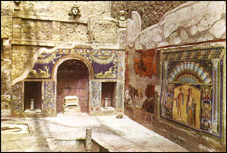 The House of Neptune in Herculaneum