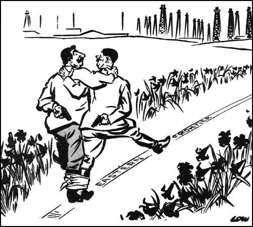David Low, Someone is taking someone for a walk (2nd November, 1939)