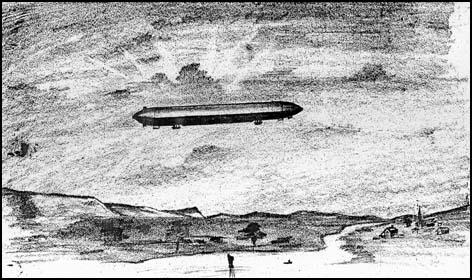 Count Zeppelin's Airship in 1990 by Robert Tressell