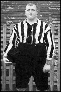 William Foulke at Sheffield Unitedin 1900
