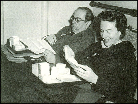 Isaiah and Aline Berlin in 1955.