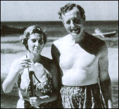 Blanche Blackwell and Ian Fleming