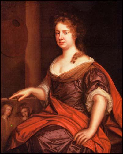 Mary Beale, Self-portrait (c. 1685)