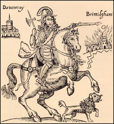 Drawing from a pamphlet, The Cruel Practices of Prince Rupert (1643)