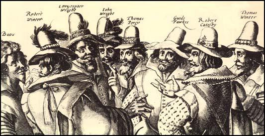 Crispen van de Passe, The Gunpowder Plot Conspirators (c.1606)