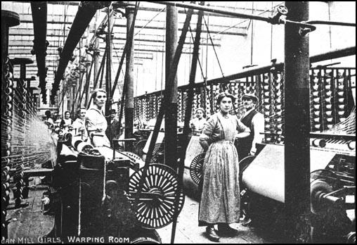 Rylands Mill, Wigan in about 1905.