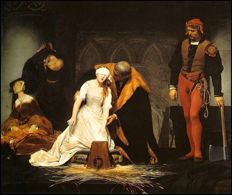 Paul Delaroche, The Execution of Lady Jane Grey (c.1840)