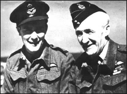 Michael and William Wedgwood Benn in 1944.