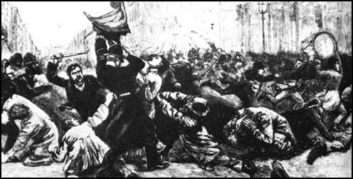 Bloody Sunday (13th February, 1887)