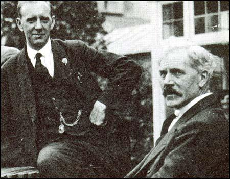 A. J. Cook with Ramsay MacDonald