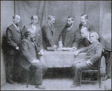 The Labour Group on the London County Council in 1898.