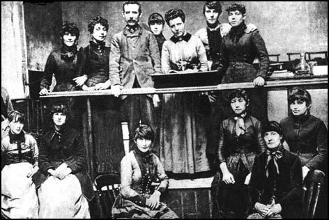 Annie Besant and the Matchgirls Strike Committee