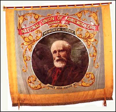 Banner of the National Union of Mineworkers