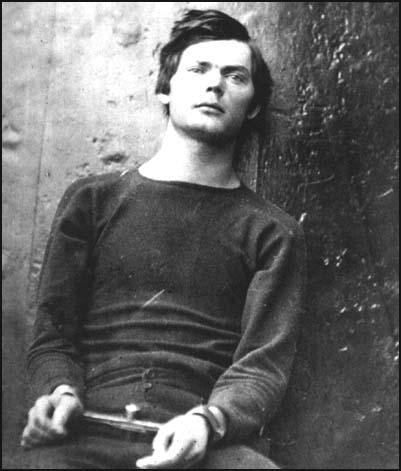 Just before he was executed Lewis Powellwas photographed by Alexander Gardner.