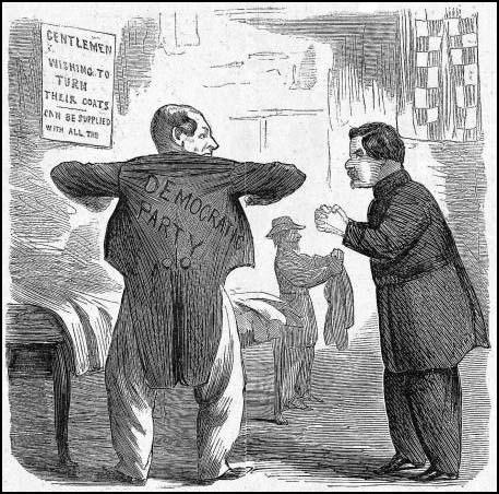This cartoon appeared in Harper's Weekly showing Fernando Wood and George McClellan during the 1864 presidential campaign (9th July, 1864)