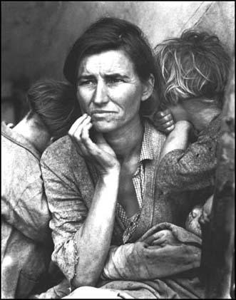 Dorothe Lange, Migrant Mother (1936)