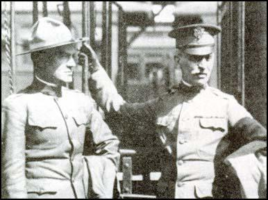 Lieutenant Colonel Hugh Johnson and General Enoch Crowder