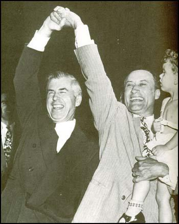 Henry A. Wallace with Glen H. Taylor