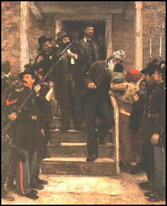 John Brown on his way to his execution
