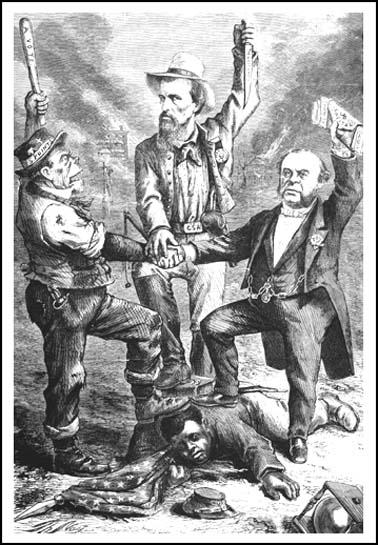 Thomas Nast, This is White Man Government,Harper's Weekly (5th September, 1868)