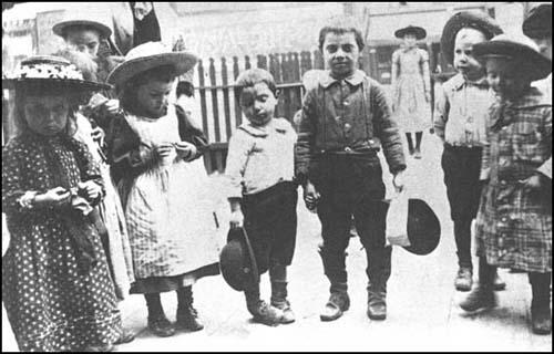 Children in the Nineteenth Ward of Chicago.