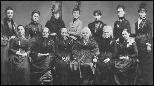 Executive Committee of the National Woman Suffrage Association