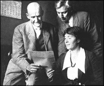 Eugene Debs, Max Eastman and Rose Pastor Stokes