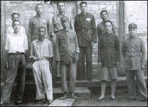 Jack Anderson with Chinese Nationalist Guerrillas in the Second World War