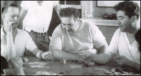Westbrook Pegler, Heywood Broun and Quentin Reynolds playing poker.