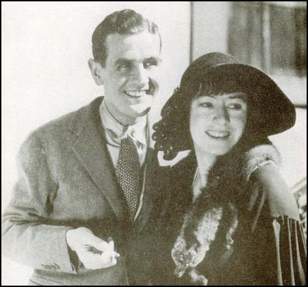 Alan Campbell and Dorothy Parker in 1934